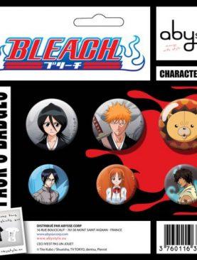 Bleach Badges Pins Set 6x