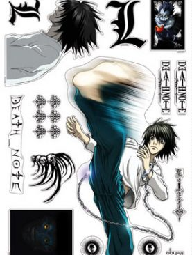 Death Note Wall Stickers