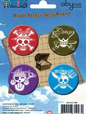 One Piece Badge Set #1