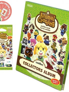 Animal Crossing amiibo Cards Album - Series 1 [with extra pack]