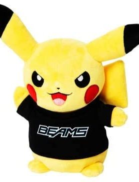 Pokemon - Pikachu BEAMS Plush Toy