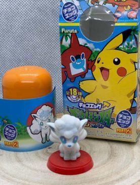 Pokemon Choco Egg Figure: Alolan Vulpix - Sun & Moon Part 2 [Shokugan]