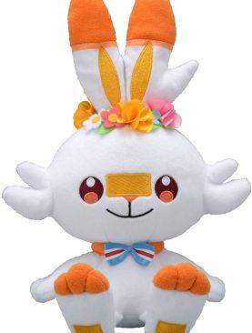 Pokemon Center Original Plush Scorbunny - Easter Edition 2020