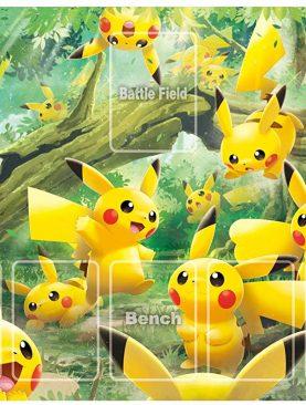 Pokemon TCG Sword & Shield - Astonishing Volt Tackle Playmat [Pikachu Forest]