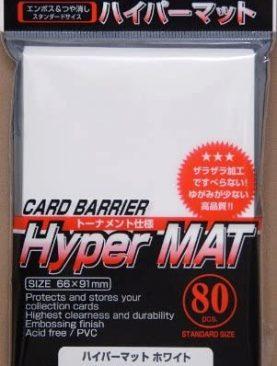 KMC Hyper Matt - White Card Sleeves (80)