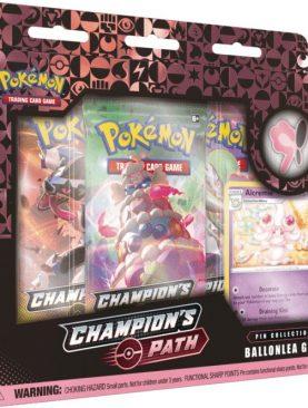 Pokemon TCG - Sword & Shield Champion's Path Special Pin Box Ballonlea Gym