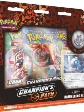 Pokemon TCG - Sword & Shield Champion's Path Pin Box Hammerlocke Gym