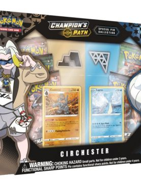 Pokemon TCG - Sword & Shield Champion's Path Special Pin Collection Circhester