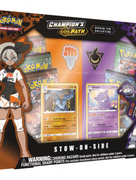 Pokemon TCG - Sword & Shield Champion's Path Special Pin Collection Stow on Side