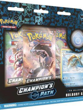 Pokemon TCG - Sword & Shield Champion's Path Pin Box Hulbury Gym