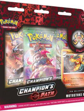 Pokemon TCG - Sword & Shield Champion's Path Pin Box Motostoke Gym