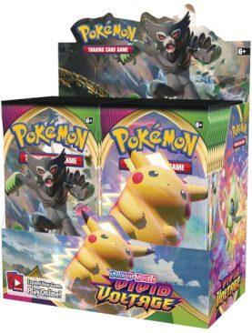 Pokemon - Sword & Shield Vivid Voltage Booster BOX