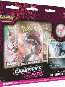 Pokemon TCG - Sword & Shield Champion's Path Pin Box Spikemuth Gym