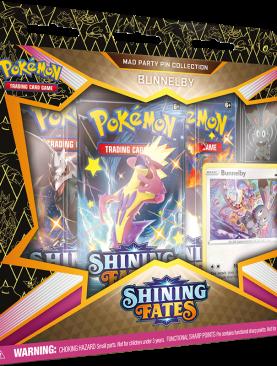 Pokemon Sword & Shield 4.5 - Shining Fates Bunnelby Pin Box