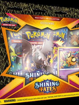 Pokemon Sword & Shield 4.5 - Shining Fates Dedenne Pin Box