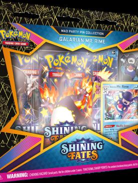 Pokemon Sword & Shield 4.5 - Shining Fates Galarian Mr. Rime Pin Box