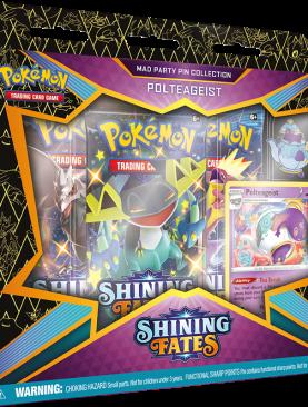 Pokemon Sword & Shield 4.5 - Shining Fates Polteageist Pin Box
