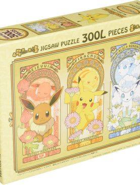 Pokemon 300 Piece Jigsaw Puzzle - Eevee, Pikachu, Vulpix