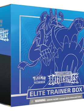 Pokemon - Sword & Shield Battle Styles Elite Trainer Box [Blue]